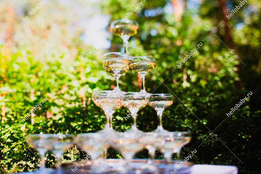 Фонтан из шампанского