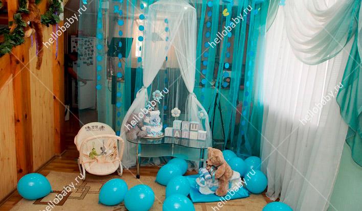 Как украсить комнату для беременных 52